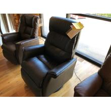 IMG LEATHER POWER RECLINER SWIVEL GLIDER