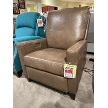 View Product - Leather High Leg Power Recliner
