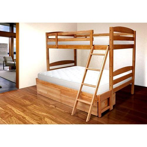 Kodiak Furniture - Twin Over Full in Pecan
