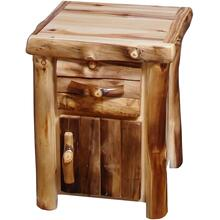 1-Drawer / 1-Door Nightstand