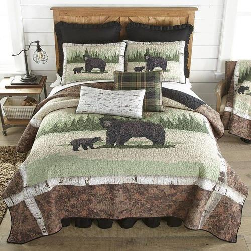 Birch Bear King Bed Quit Set
