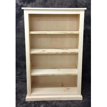 See Details - Maine Made 30X48 Bookcase 30W X 48H X 13D Pine Unfinished