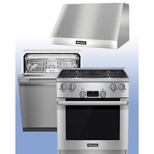 MIELE - Save up to $1,800 on Miele Kitchen Packages of your choice. See 3-Pc Example.