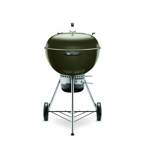 """Gallery - 22"""" Master Touch Charcoal Grill - Smoke"""