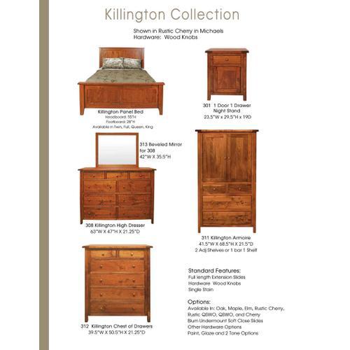 Door County Furniture - Killington Collection