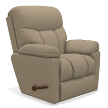 Morrison Chaise Rocking Recliner in Silver       (10-766-B153853,39758)