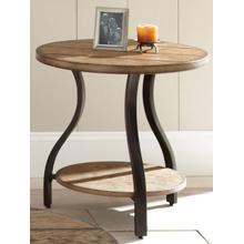 Denise Round End Table
