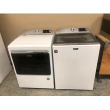Slightly Used Maytag Top Load Washer and Electric Dryer Set