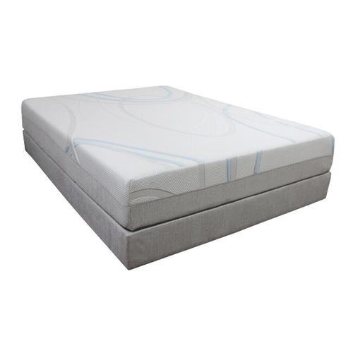 Gel-Max Memory Foam Mattress - 10""