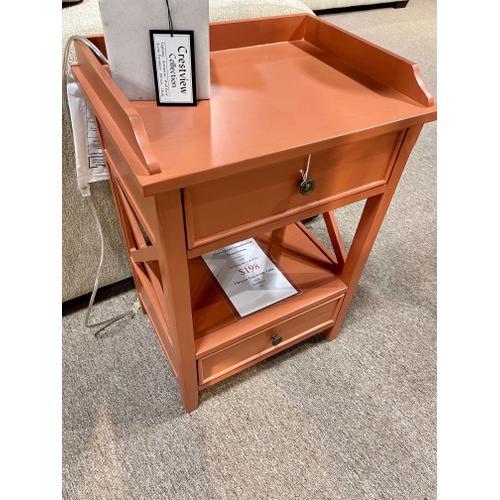 Pulaski Furniture - 2 Drawer Clay X Side Table