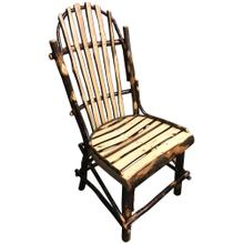 See Details - Amish Hickory Side Chair