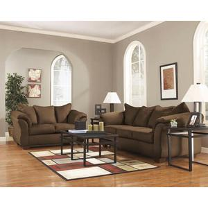 Darcy-Cafe Sofa and Loveseat