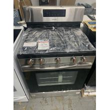5.8 cu. ft. Freestanding Gas Range in Stainless Steel**OPEN BOX ITEM** Ankeny Location
