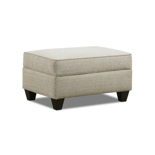 Simmons Upholstery - UNITED 2015OT Dante Almond Storage Ottoman