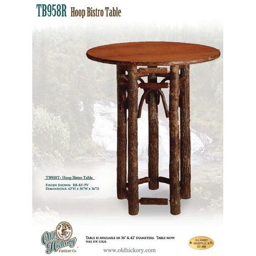 Hoop Bistro Table