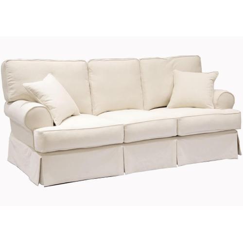 Mia Home Slip Covered Sofa