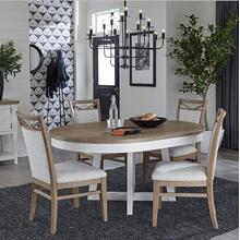 """View Product - 48"""" round table with chairs"""