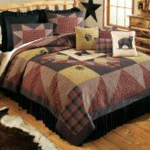 Bear's Paw - Quilted Bedding Collection