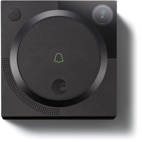 August - August 1.2MP Wireless Doorbell Cam (Dark Gray)