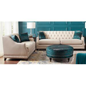 2 Piece Set: Sofa and Loveseat