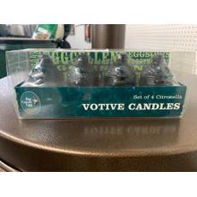 See Details - Big Green Egg Votive Candle (set of 4)