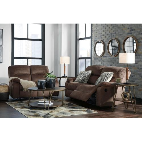 Bolzano - Coffee Reclining Sofa & Loveseat