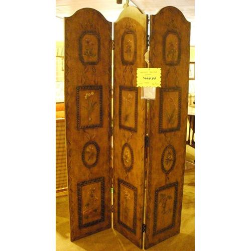 Spector Furniture - Three Section Wood Divider
