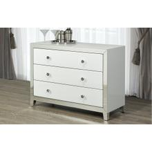 White Mirror Dresser