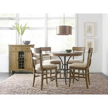 Nook 5pc Dining Set - Counter Height