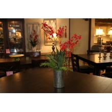 See Details - Red Orchid Planter