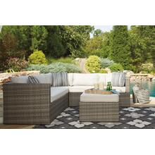 Peckham Park Outdoor Sectional w/ Ottoman