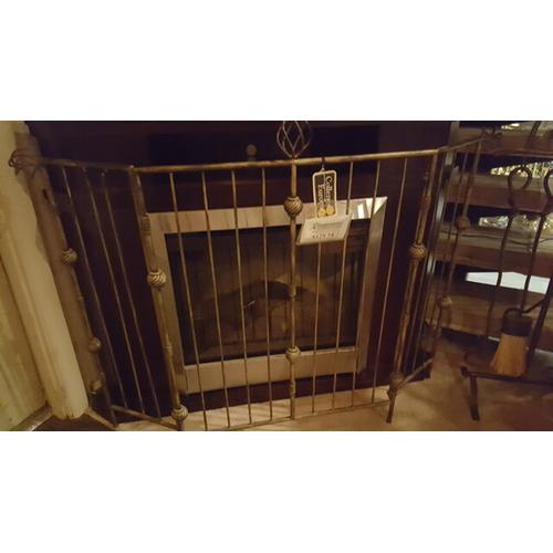Factory Closeouts - Deco Fireplace Screen
