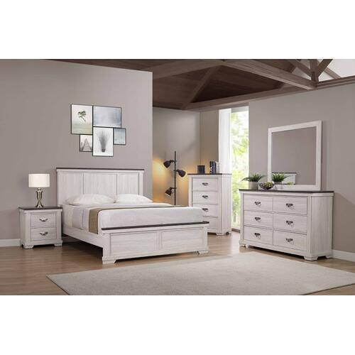Crown Mark - Leighton Bed - Full Size