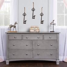 Evolur Santa Fe Double Dresser- Storm Grey