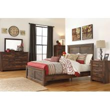 Quinden - Queen Panel Bed, Dresser, Mirror, 1 X Nightstand
