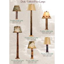 Desk, Table & Floor Lamps