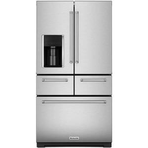 Kitchenaid 25.8CF Stainless Steel French Door Product Image