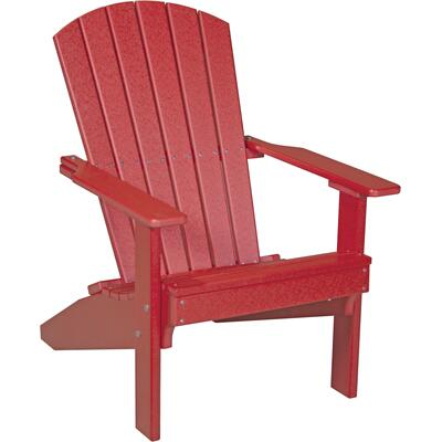 Lakeside Adirondack Chair Red