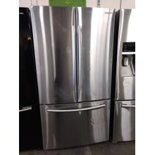 26 cu. ft. French Door Refrigerator with Twin Cooling Plus in Stainless Steel (This is a Stock Photo, actual unit (s) appearance may contain cosmetic blemishes. Please call store if you would like actual pictures). This unit carries our 6 month warranty, MANUFACTURER WARRANTY and REBATE NOT VALID with this item. ISI 37881 W