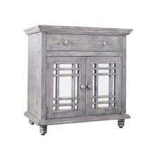 See Details - Sergio Accent Chest - Silver