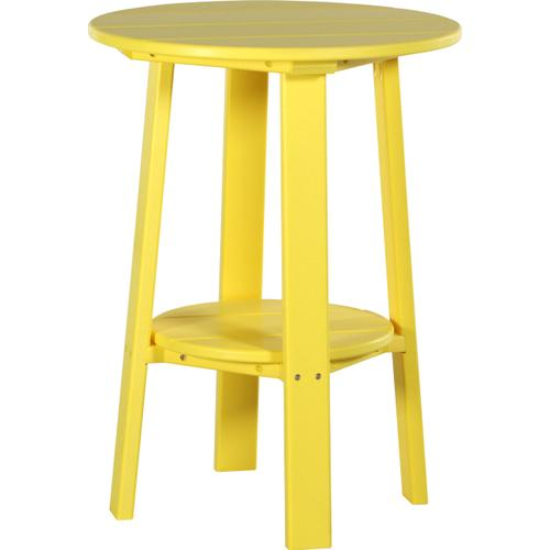 "Deluxe End Table 28"" Yellow"