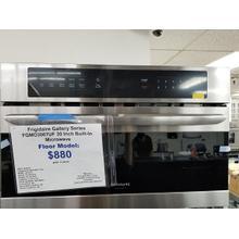 "Frigidaire Gallery Series 30"" Built In Microwave FGMO3067UF (FLOOR MODEL)"
