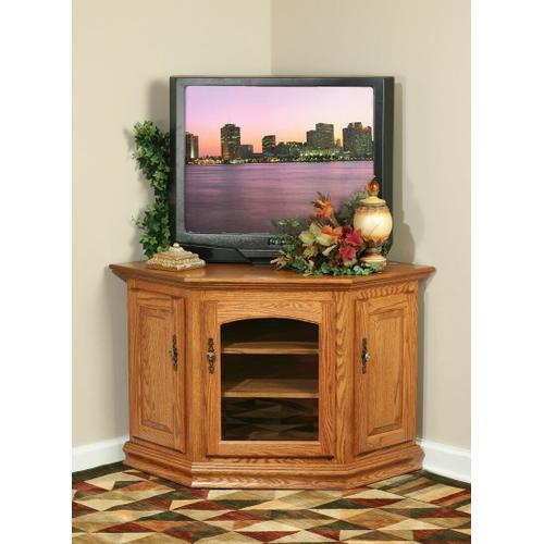 Traditional Corner TV Stand