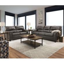 See Details - LANE 2038-03-02-4010-19G Soft Touch Leather Fog Sofa, Loveseat & Recliner Group