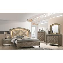 View Product - Cristal 6 Piece Glam Bedroom