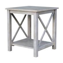 Hampton End Table - Grey