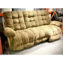 Everlasting Space Saver Dbl Power Reclining Sofa in Cocoa FLOOR MODEL-ASIS  S515RP4-20576   (44899tag ID# 33113)