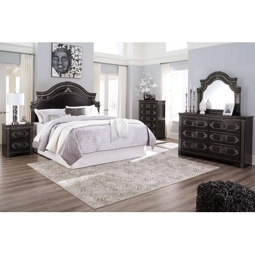 Banalski - Dark Brown 4 Piece Bedroom