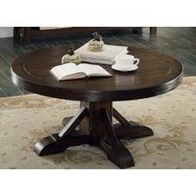 See Details - E.C.I. Gettysburg Round Cocktail Table