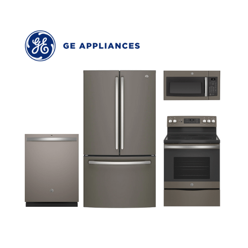 View Product - GE 4 Piece Slate Kitchen Package